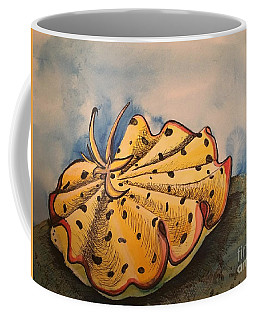 Yellow Nudibranch Coffee Mug