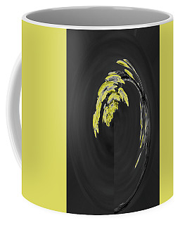 Yellow On Gray 2 Coffee Mug