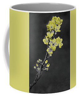 Yellow On Gray Coffee Mug