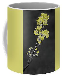 Yellow On Gray Coffee Mug