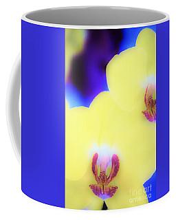 Yellow Orchid Coffee Mug