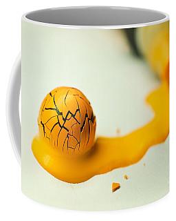 Yellow Painted Ball Coffee Mug