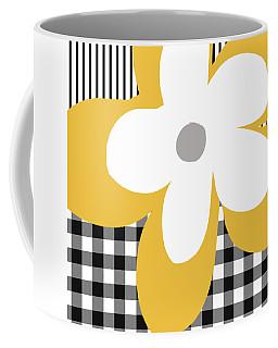Yellow Picnic Flower- Art By Linda Woods Coffee Mug