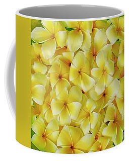 Yellow Plumerias Coffee Mug