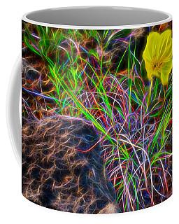 Yellow Primrose Electrify Coffee Mug