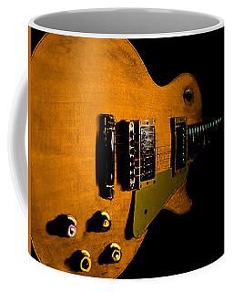 Yellow Relic Guitar Hover Series Coffee Mug