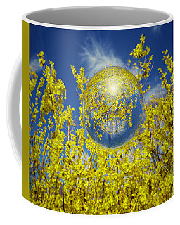 Coffee Mug featuring the photograph Yellow by Robert Geary