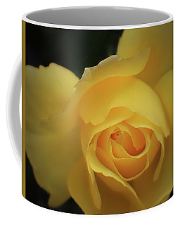 Coffee Mug featuring the photograph Yellow Rose Garden Two by Ella Kaye Dickey