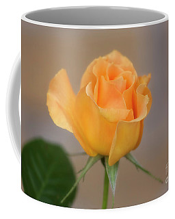 Yellow Rose Of Texas Coffee Mug by Joan Bertucci