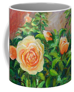 Yellow Roses Coffee Mug by William Reed