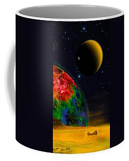 Yellow Sea On Kepler 186d Coffee Mug