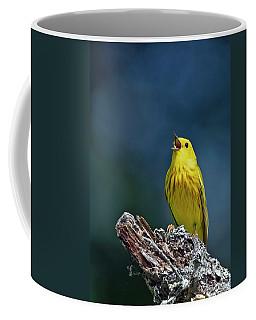 Yellow Sinatra Coffee Mug