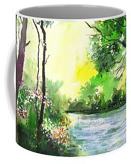Yellow Sky Coffee Mug