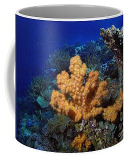 Yellow Soft Coral Coffee Mug