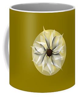 Yellow Soft Flower Coffee Mug