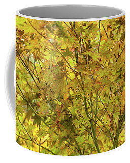 Yellow Spring Coffee Mug by Iris Greenwell