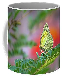 Yellow Sulfur Coffee Mug by Mark Dunton