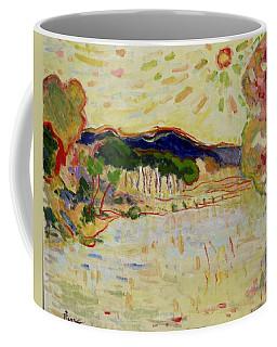 Beynac Et Cazenac , Dordogne , Yellow Sunshine  Coffee Mug by Pierre Van Dijk