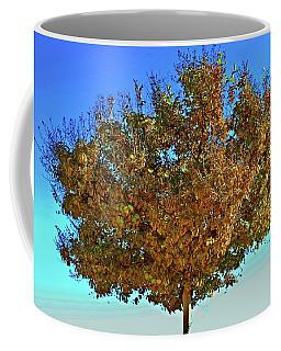 Yellow Tree Blue Sky Coffee Mug