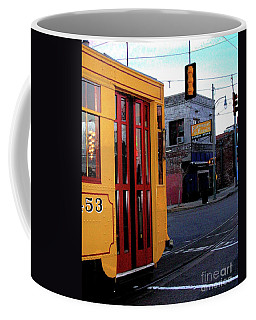 Yellow Trolley At Earnestine And Hazels Coffee Mug