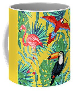 Yellow Tropic  Coffee Mug