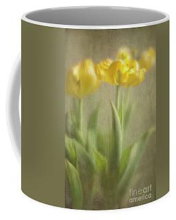 Yellow Tulips Coffee Mug by Elena Nosyreva