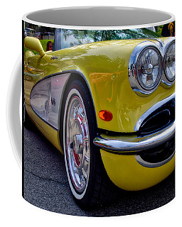 Yellow Vette Coffee Mug