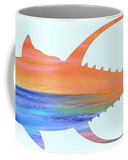 Yellowfin Sunset Beach Coffee Mug