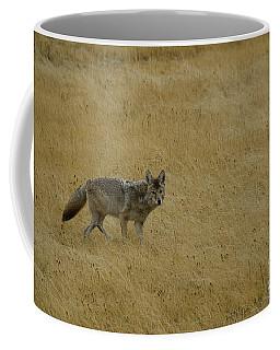 Yellowstone Coyote Coffee Mug
