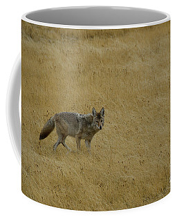 Yellowstone Coyote Coffee Mug
