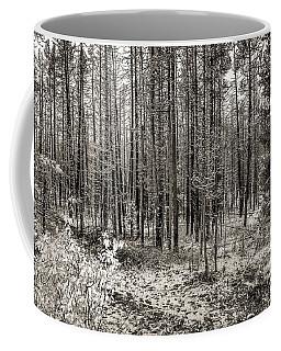 Yellowstone Fire Burn Scar Coffee Mug