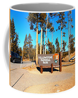 Yellowstone Gallery Marker Coffee Mug