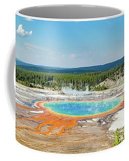 Yellowstone Grand Prismatic Spring  Coffee Mug