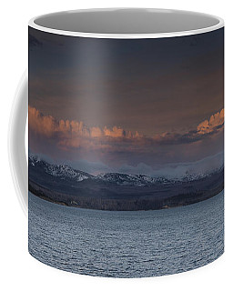 Yellowstone Lake At Sunset Coffee Mug