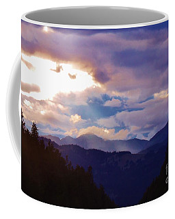 Coffee Mug featuring the photograph Yellowstone by Larry Campbell