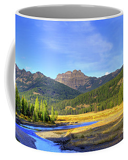 Yellowstone National Park Landscape Coffee Mug