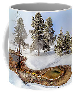 Yellowstone National Park Thermal Pool  Coffee Mug