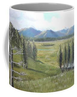 Yellowstone Overlook Coffee Mug by Jayne Wilson