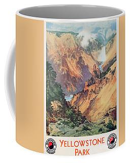 Yellowstone Park Coffee Mug by Thomas Moran