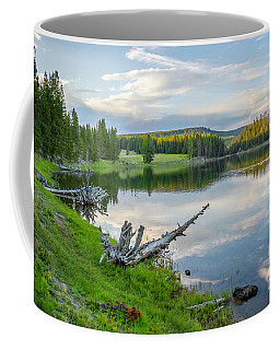 Yellowstone River Off Grand Loop Coffee Mug