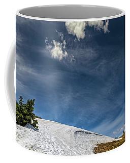 Coffee Mug featuring the photograph Yellowstone Sky by John M Bailey