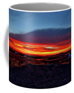 Yellowstone Sunset Coffee Mug