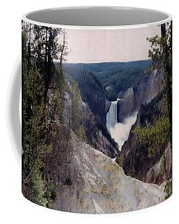 Yellowstone Water Fall Coffee Mug