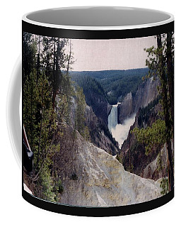 Yellowstone Water Fall Coffee Mug