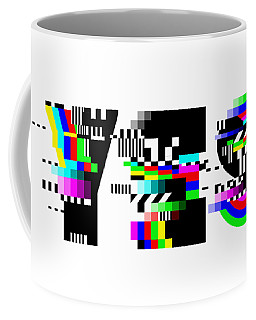 Coffee Mug featuring the digital art YES by Bee-Bee Deigner