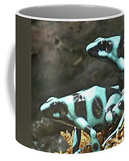 Spots And Striped Frogs Coffee Mug