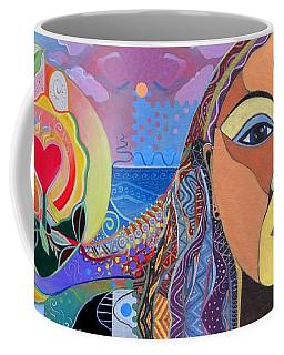 Yes We Can Coffee Mug by Helena Tiainen