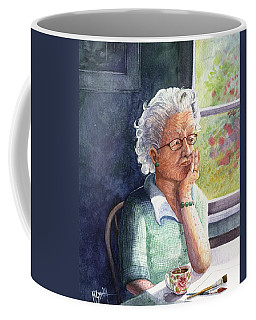 Coffee Mug featuring the painting Yesterday's Gone by Marilyn Smith
