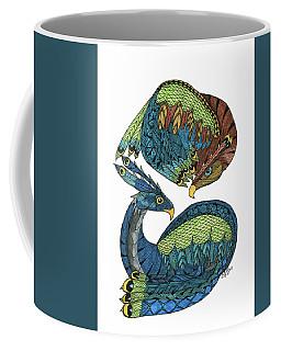 Yin Yang Dragons Coffee Mug