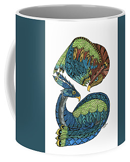 Yin Yang Dragons Coffee Mug